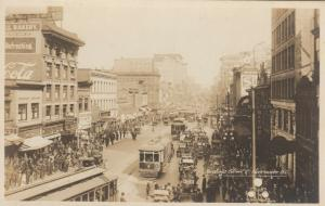 RP, VANCOUVER, British Columbia, Canada, 1921 ; Hastings Street