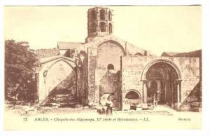 Chapelle Des Alyscamps, XI Siecle Et Renaissance, Arles (Bouches-du-Rhône), ...