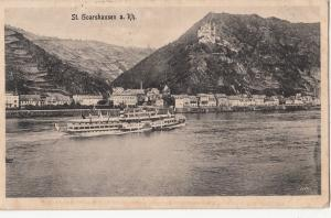 BF17368 st goarshausen a rh ship germany  front/back image