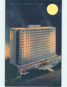 Unused Linen HOTEL SCENE Greenville South Carolina SC B1529-23