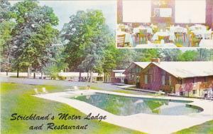 Maryland Baltimore Strickland's Motor Lodge Restaurant Swimming Pool