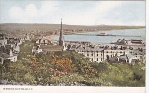 WESTON-SUPER-MARE (Somerset), England, UK, 1900-10s ; Panorama