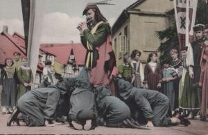 Pied Piper of Hameln Hamelin Antique German Postcard