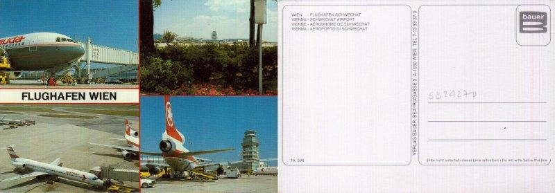 AUSTRIA, VIENA, SCHWECHAT AIRPORT  (VIE)   [26385]