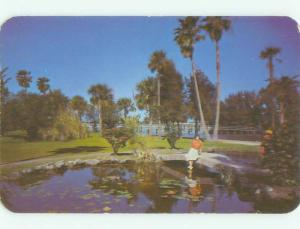 Unused Pre-1980 BRIDGE SCENE Daytona Beach Florida FL HQ9029