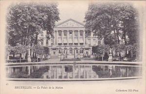 Belgium Brussells Le Palais De La Nation