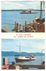 Ships M/V Trois Rivieres & Marjolaine , Quebec, Canada, 50-60s Traversiers ...