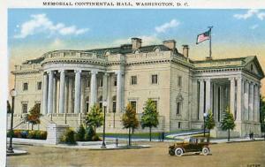 DC - Washington, Memorial Continental Hall
