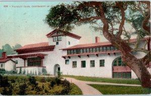 Faculty Verein Universität Von Kalifornien Postkarte 1909 Von Edward H Mitchell