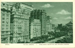 brazil, RIO DE JANEIRO, Cinelândia, Cinema District (1930s) Guanabara