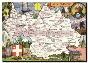 Postcard Modern Savoie Joseph de Maistre Curiosities castle of the Dukes Lake...