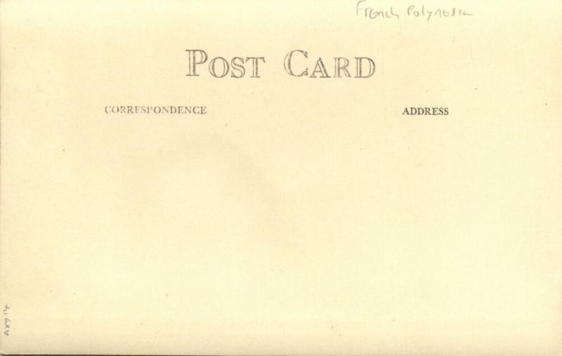 french polynesia, RAPA Island, Byrd Antarctic Expedition III (1939) RPPC (3)