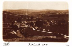 Postcard KETTLEWELL 1900 Yorkshire Dales Francis Frith Collection Repro Card