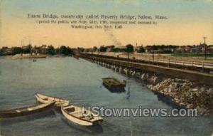 Essex Bridge Salem MA 1908