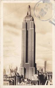 RP, Empire State Building, New York City, New York, PU-1939