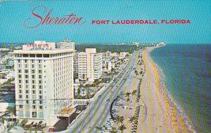Sheraton Hotel Fort Lauderdale Florida 1968