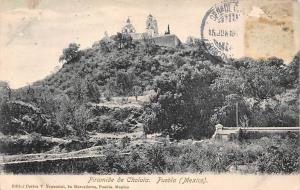 Mexico Puebla Piramide de Cholula
