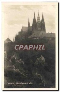 Postcard Old Praha Hradcansky Dom