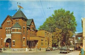 Buckingham Quebec Canada Street View Post Office Old Cars Postcard