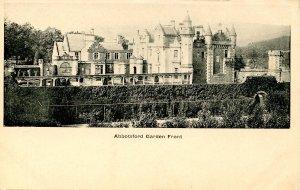 UK - Scotland, Abbotsford. Garden Front