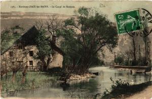 CPA Env. d'AIX-les-BAINS - Le Canal de Savieres (438828)