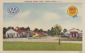 South Carolina Myrtle Beach Traveler Motor Hotel