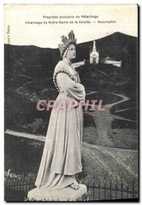 Old Postcard Pilgrimage of Our Lady of the Assumption Salette