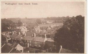 WASHINGBORO' , Lincolnshire , England , 1944 ; From Church Tower