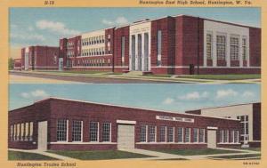 West Virginia Huntington East High School Curteich