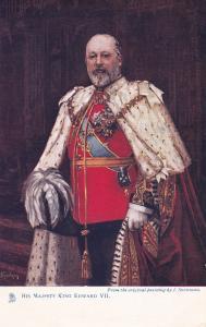 His Majesty King Edward VII [Version-2] , 00-10s ; TUCK
