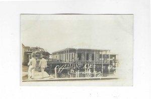 Vtg 1918-1930 AZO RPPC Officer's Club, Caimanera, Cuba Photo  Postacrd