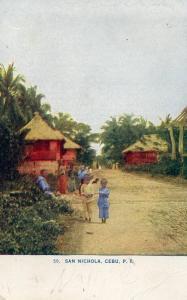 Philippine Islands - Cebu. San Nichola Parish