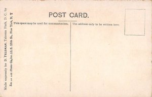 Washington DC Takoma Park Takoma Hall Vintage Postcard AA20505