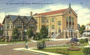 St Anns Church Wildwood-by-the Sea NJ Unused