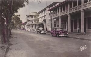 RP: ANBIDJAN (Cote d´Ivoire) , Le Boulevard Antonetti , 1950