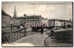 Nantes - Land of taking full view of Little Holland - Old Postcard