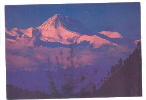Mt. Annapurna, evening view, Nepal, 50-70s