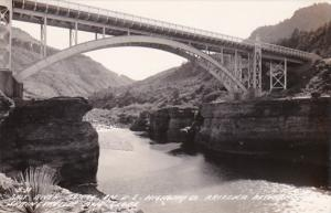 Arizona Salt River Bridge On U S Highway 60 Real Photo