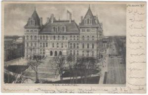 New York - Albany - the Capitol Building - 1907