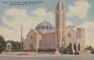 Florida Tarpon Springs St Nicholas Greek Orthodox Church Curteich