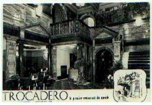 pc793 postcard UK London Trocadero Restaurant
