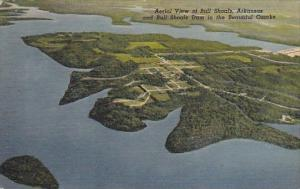 Aerial View Of Bull Shoals Arkansas