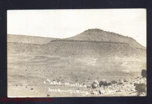 RPPC DEMING NEW MEXICO TABLE MOUNTAIN LEWISTON IDAHO REAL PHOTO POSTCARD