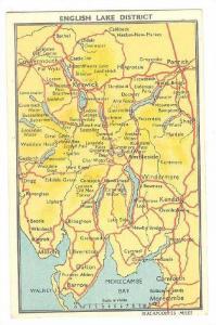 Map, English Lake District,  00-10s