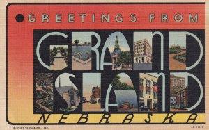 LARGE LETTER, GRAND ISLAND, Nebraska, 1930-1940's