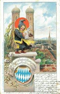Germany Munchen Litho 03.42