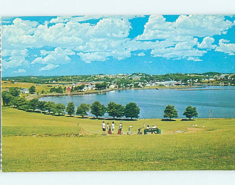 Pre-1980 GOLF COURSE BY HARBOR Lunenburg - Near Lahave & Bridgewater NS F4248