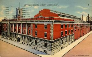 KY - Louisville. Jefferson County Armory