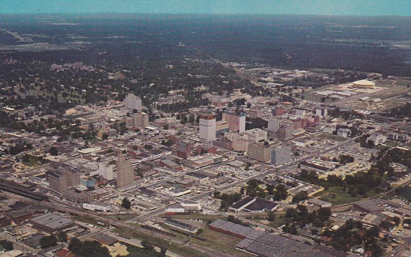 Aerial View, JACKSON, Mississippi, 40-60´