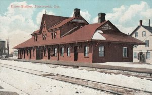 SHERBROOKE , Quebec, Canada; 00-10s; Union Railroad Station